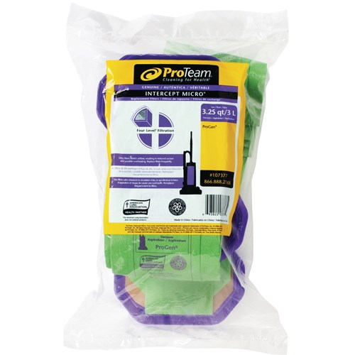ProTeam 107377 Intercept Micro Filter Bag to Fit ProGen 10 Pack