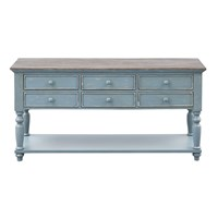 Pocola 6-Drawer Console Table