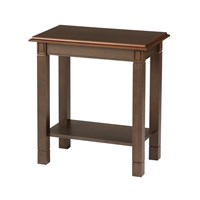 Baxley Chairside Table with Laminate Top