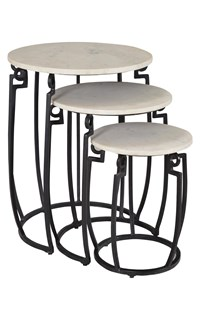 Peniche Nesting Tables - Set of 3