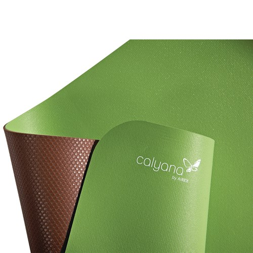 Airex Calyana Prime Double Sided Yoga Mat 73 X 26 Green C6249 Direct Supply