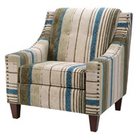 Atwood Lounge Chair with Button Tufting