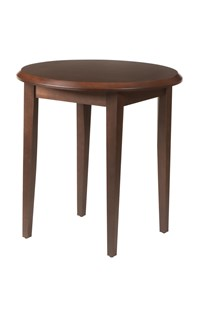 Odessa Round End Table with Laminate Top