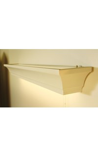 Kensington LED Overbed Light with Pull Chain: 4 ft.