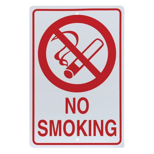 outdoor parking sign no smoking w cigarette symbol 96202