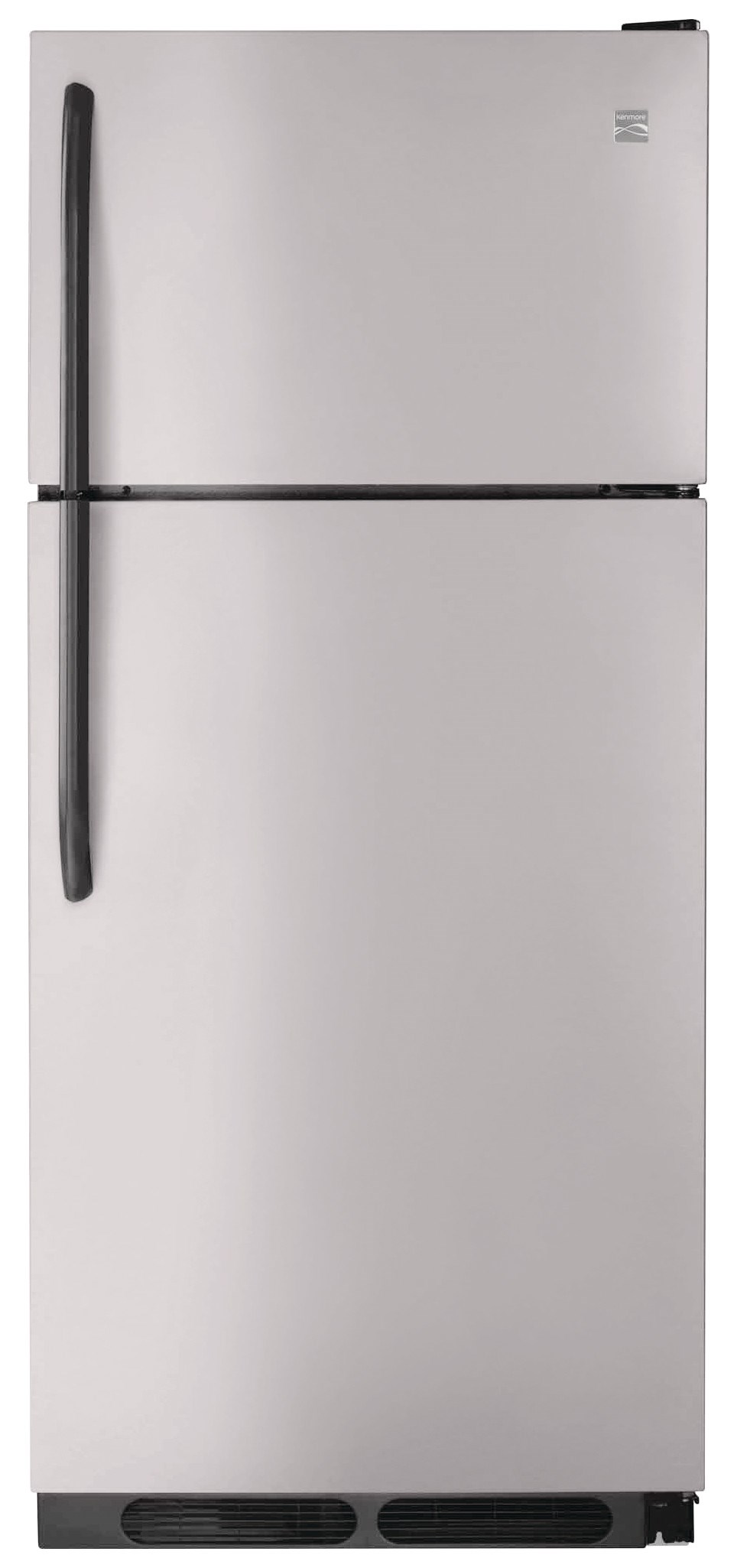 kenmore freezer. kenmore® 16.3 cu. ft. top-freezer refrigerator, stainless kenmore freezer