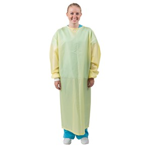 Reusable Isolation Gown, Polyester, AAMI Level 3 Gown
