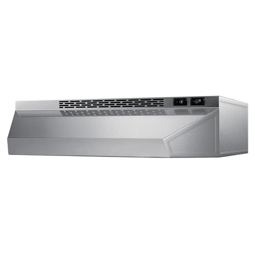 Summit Range Hood With Convertible Venting Option 18 W Stainless