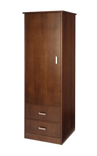 Quick-Ship Cavallino 1-Door/2-Drawer Wardrobe