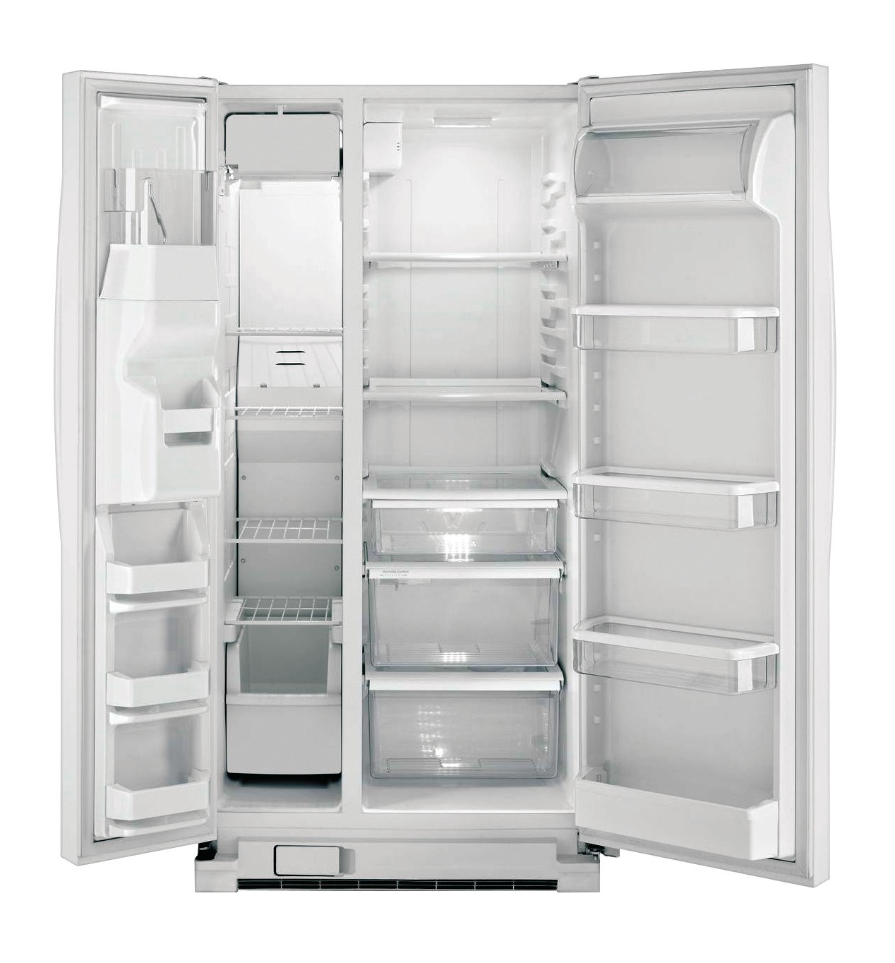 whirlpool side by side refrigerator white. whirlpool® 22 cu. ft. side-by-side refrigerator, white whirlpool side by refrigerator
