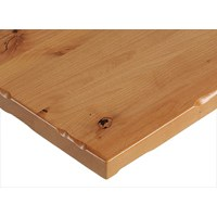 Natural Alder Plank Tabletop with Rustic Edge