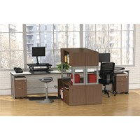 Alera Reg Open Office Desk Series Hutch