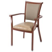 Maxwell Thomas Vincenza Wood Stacking Chair