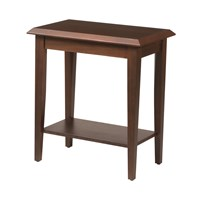 Odessa Chairside Table with Laminate Top
