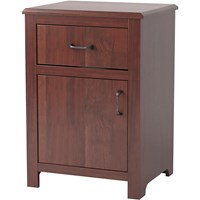 Evanston 1-Door/1-Drawer Bedside Cabinet
