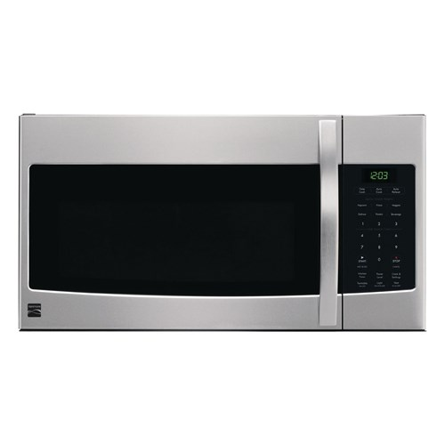 Kenmore 1 6 Cu Ft Over The Range Microwave Stainless Steel