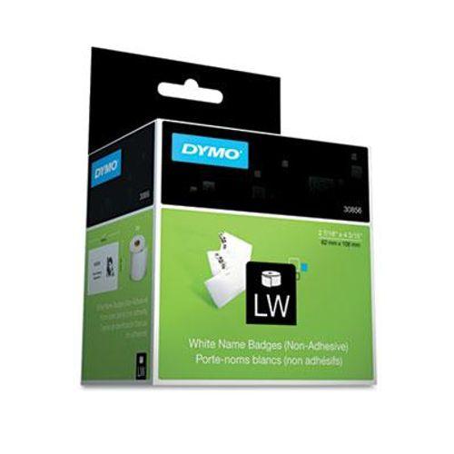 White 2-7//16 x 4-3//16 Name Badge Insert Labels 250//Box