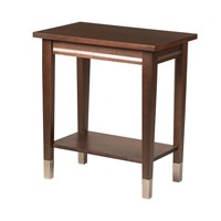 Ravenna Chairside Table with Laminate Top