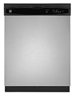 kenmore dishwasher black. kenmore® 3-cycle dishwasher, stainless steel kenmore dishwasher black