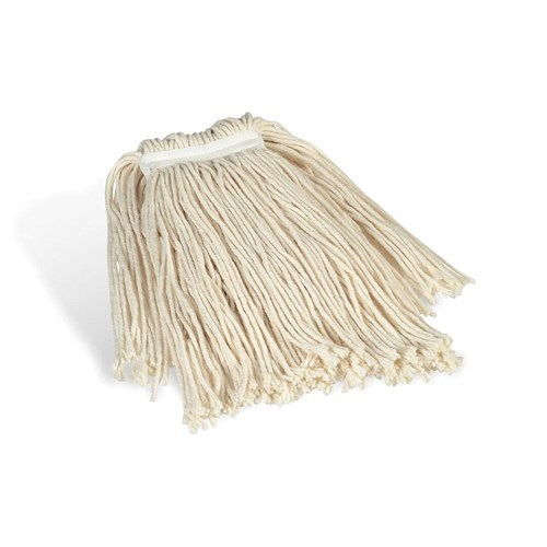 Coastwide Professional Cut End Wet Mop Head 24 Cotton 1 Headband White Gtf88 Direct Supply