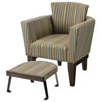 Ridgeland Tub Chair with Ottoman