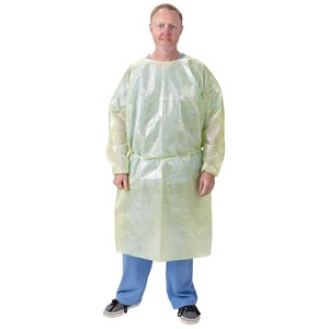 AAMI Level 2 Isolation Gowns, Disposable, 100% Polypropylene
