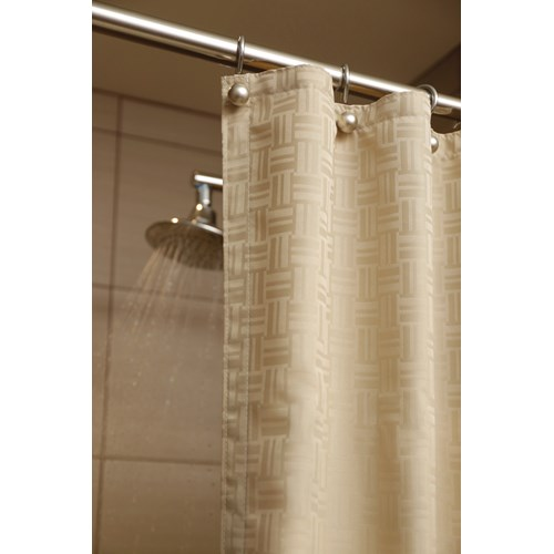 Impact Shower Curtain with Mesh, 24\