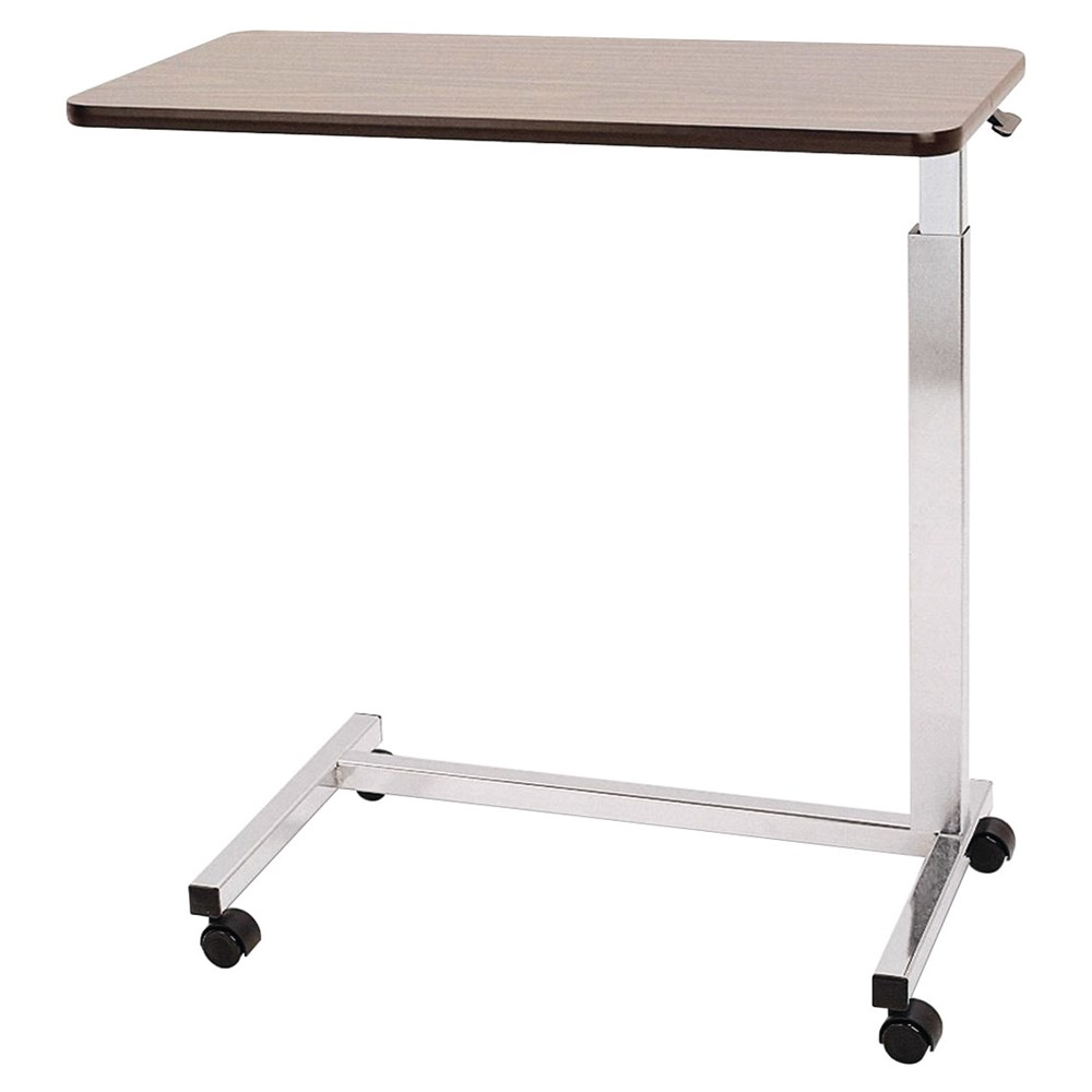 Split top overbed table - Joerns Overbed Table