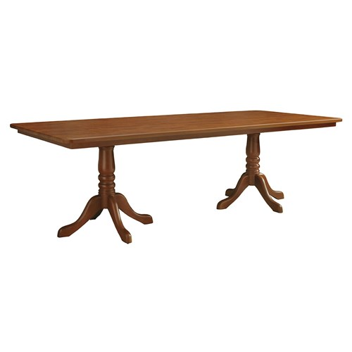 Rectangular Dining Table With Two Pedestal Bases 96 W 8rj17 Direct Supply