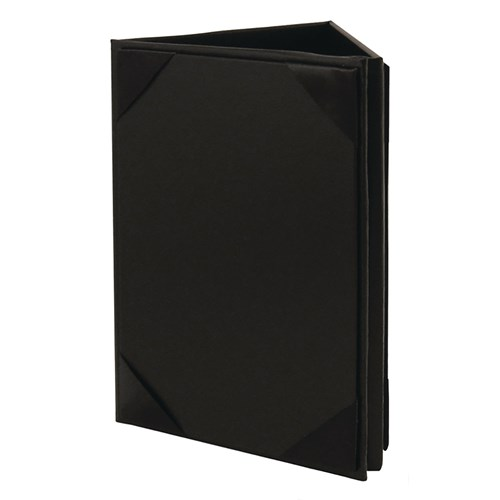 Sided Risch Black Table Tent E Direct Supply - 3 sided table tents