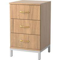 Ravenna 3-Drawer Bedside Cabinet