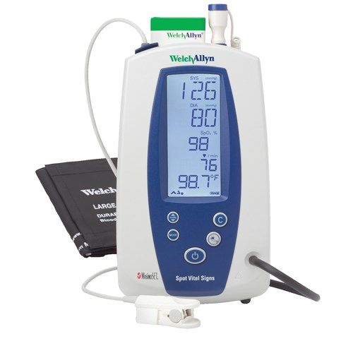 Spot Vital Signs Monitor with NIBP and Nellcor SpO2 (52389