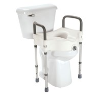 Superb Direct Choice Raised Toilet Seat For Elongated Toilets 3H Pdpeps Interior Chair Design Pdpepsorg