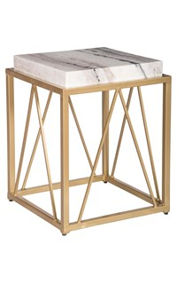 Swiss Alps Accent Table
