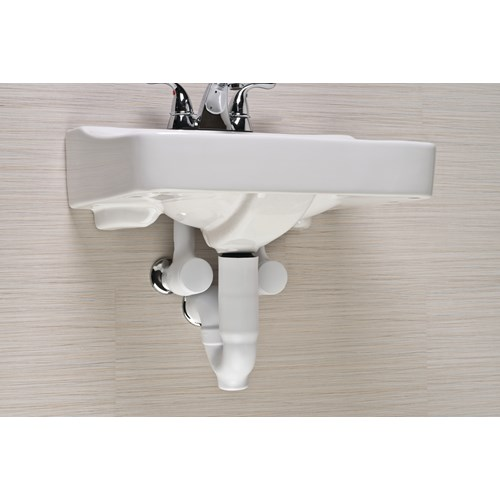 Undersink Protective Pipe Cover 4 Waterless Trap Seal F4062 Direct Supply