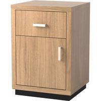 Napoli 1-Door/1-Drawer Bedside Cabinet