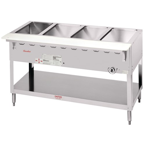 Super Aerohot Economy Portable Open Base Steam Table Electric 5 Home Interior And Landscaping Staixmapetitesourisinfo
